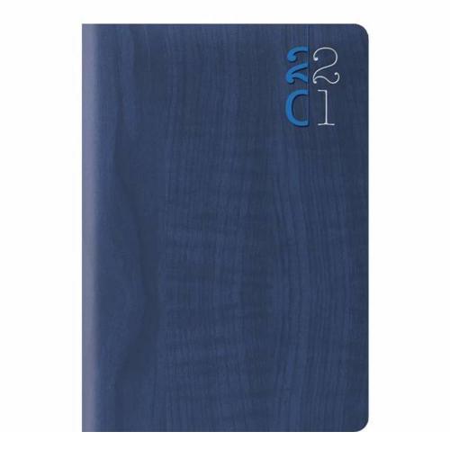 Ημερολόγιο 2021 9x13 ημερήσιο Woodline μπλε