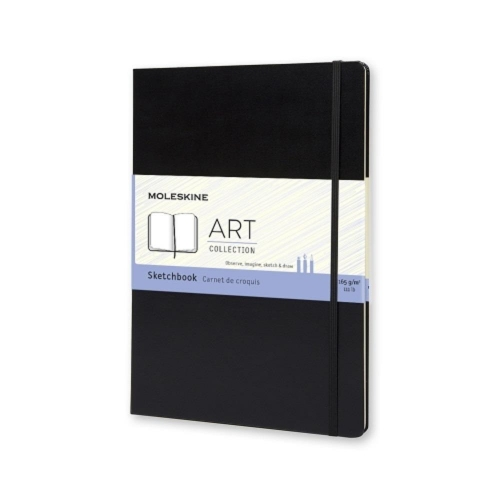 Σημειωματάριο 9x14cm Moleskine black 40φ sketchbook