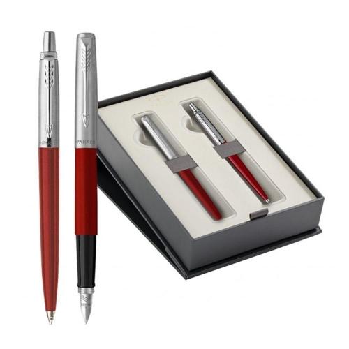 Σετ Parker Jotter Red CT Red στυλό & πένα