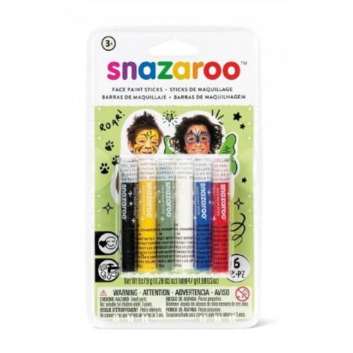 Χρώματα Face Painting Snazaroo 6 κραγιόνια unisex