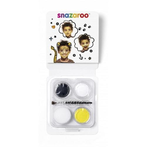 Χρώματα Face Painting Snazaroo 3 παστίλιες τιγράκι