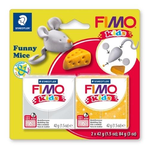 Σετ Fimo kids funny mice 8035 11