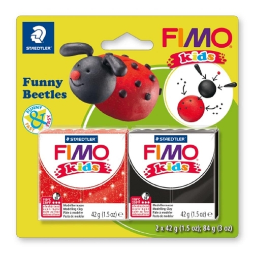 Σετ Fimo kids funny beetles 8035 12