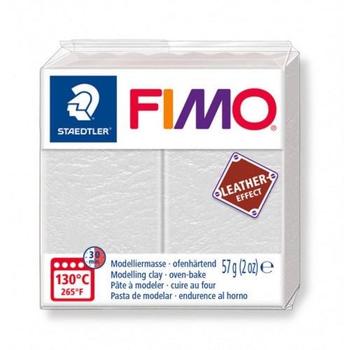 Πηλός Fimo effect 57g Νο029 leather ivory