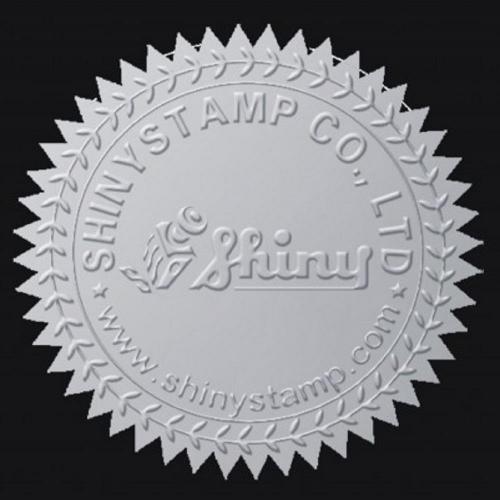 Αυτοκόλητα Shiny CS-2 40mm ασημί