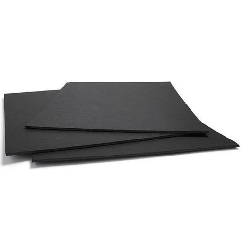 Μακετόχαρτο 50x70 cm 3 mm μαύρο