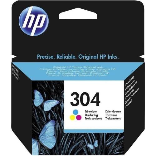 Μελάνι Hp 304 tri-colour