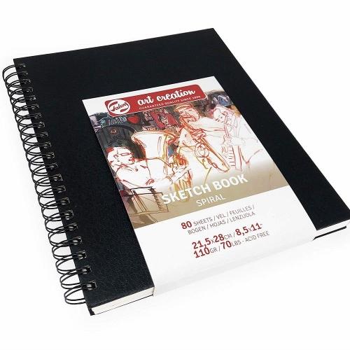 Σημειωματάριο 21,5x28cm Talens 80φ σπιράλ sketchbook