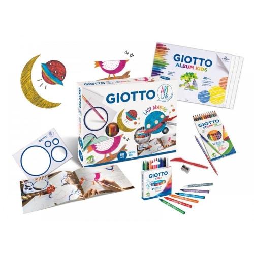 Σετ Δημιουργίας Giotto Art Lab Easy Drawing 68 τεμ