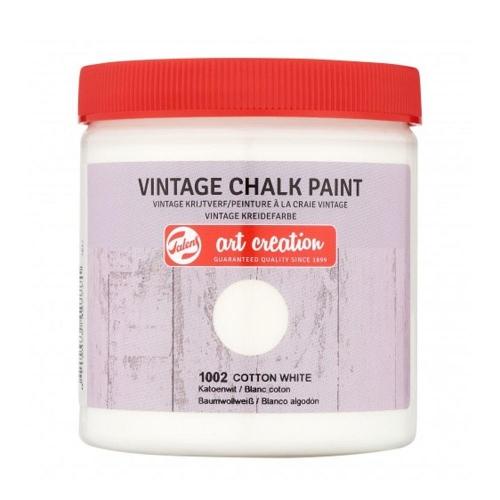 Χρώμα κιμωλίας Talens 250 ml 1002 cotton white