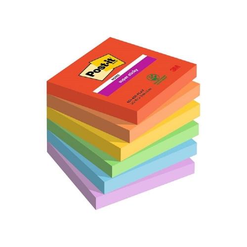 Χαρτάκια Post-it 3M 76x76 6x90Φ 654-6SS-JP