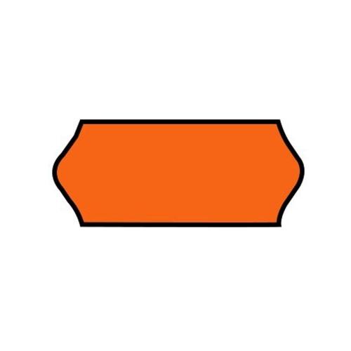 Ετικέτες ετικετογράφου 26x12/1000 φωσφορικό πορτοκαλί