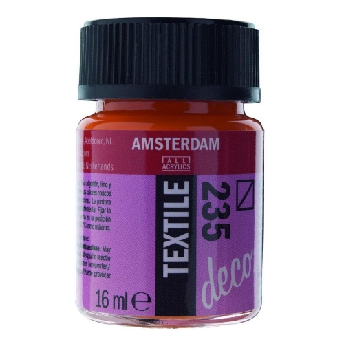 Amsterdam textile 16 ml 235 orange