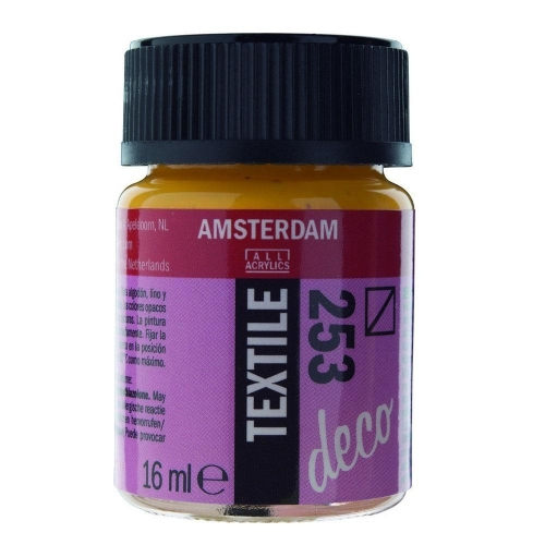 Amsterdam textile 16 ml 253 gold yellow