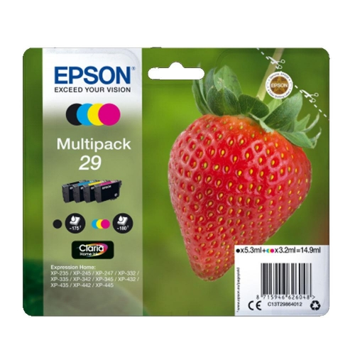 Μελάνια Epson 29 multipack