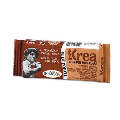 Πηλός Krea καφέ 500 gr