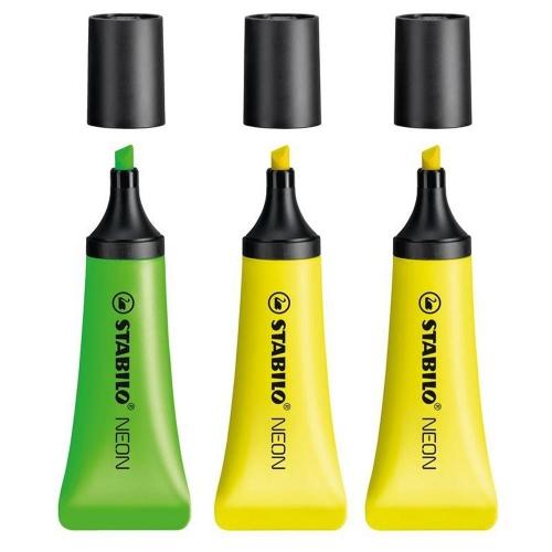 Υπογραμμιστές Stabilo neon σετ 3 τεμάχια