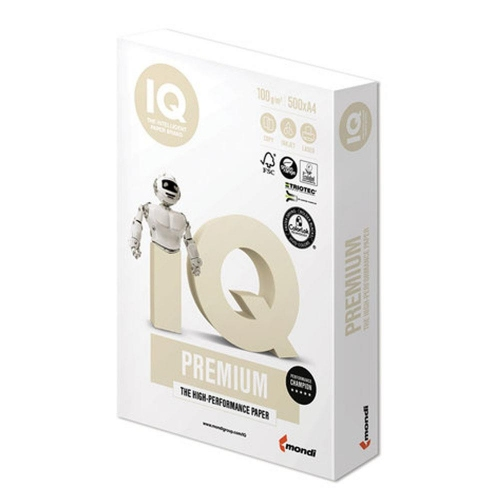 Χαρτί Α4 IQ 100gr 500φ λευκό