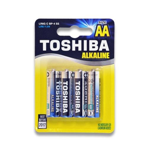 Μπαταρίες AA Toshiba 4 τεμ. LR6GCP BP-4