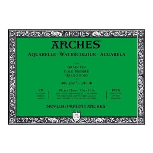 Μπλοκ Arches cold pressed 18x26 cm 300 gr 20 φύλλα