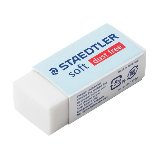 Γόμα Staedtler Soft 526 S30 λευκή