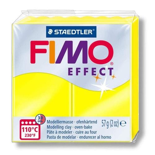 Πηλός Fimo effect 57g Νο101 neon yellow 8010-101