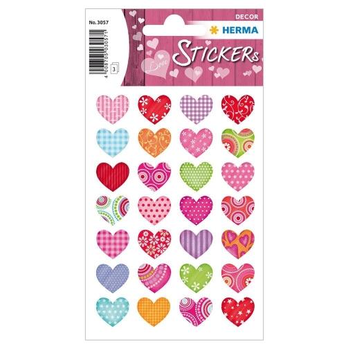 Αυτοκόλλητα Herma Decor 3057 colourful hearts