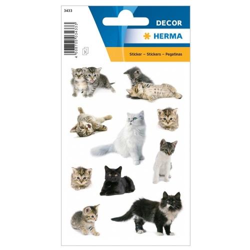 Αυτοκόλλητα Herma Decor 3433 cat photos