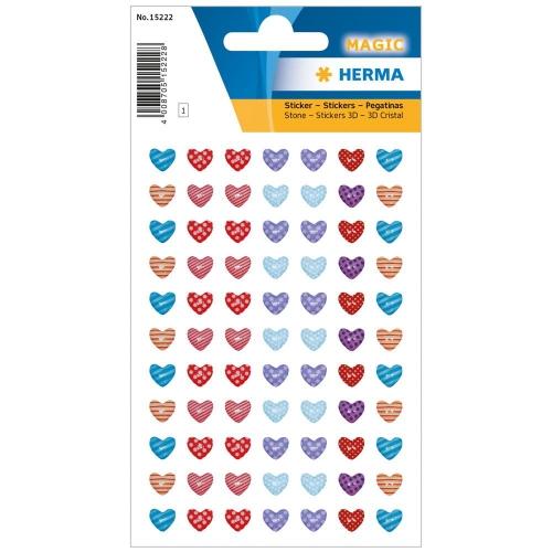 Αυτοκόλλητα Herma Magic 15222 little hearts