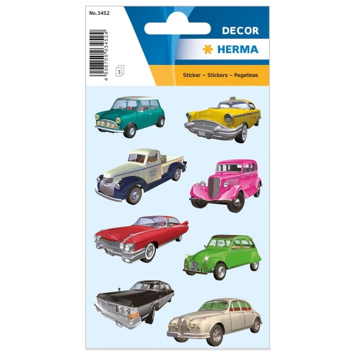 Αυτοκόλλητα Herma Decor 3452 cars II