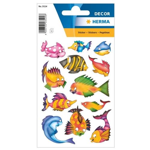 Αυτοκόλλητα Herma Decor 3524 colourful fishes
