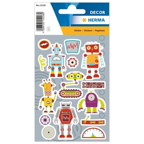 Αυτοκόλλητα Herma Decor 15228 family robot