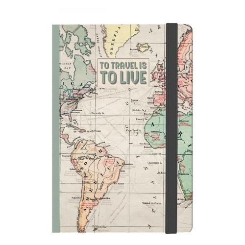 Σημειωματάριο Legami 9,5x13,5 travel NOTP0036