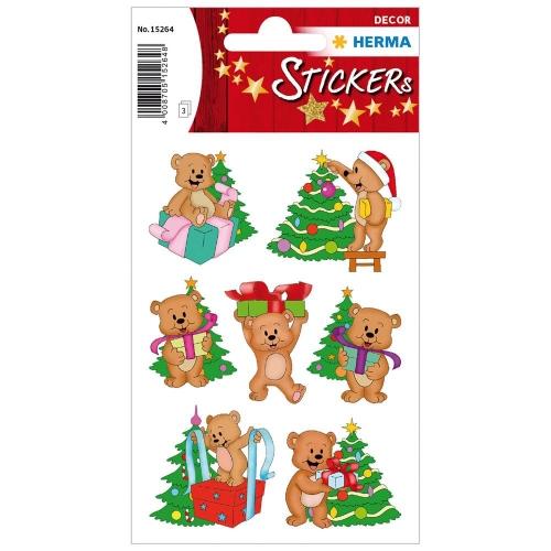 Αυτοκόλλητα Herma Decor 15264 Christmas bears