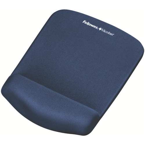 Mousepad Fellowes wrist support microban blue 9287302