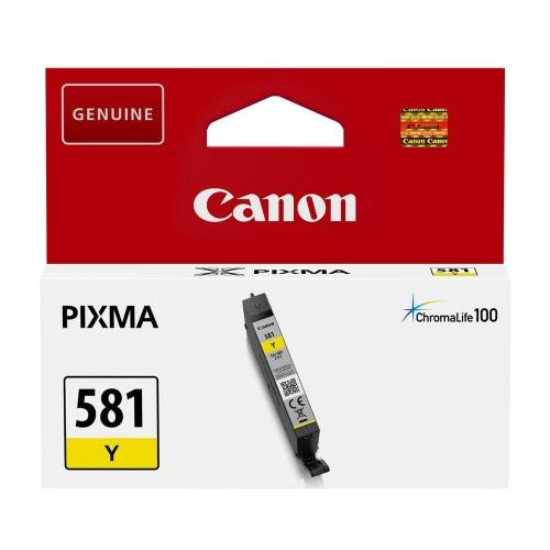 Μελάνι Canon 581 yellow