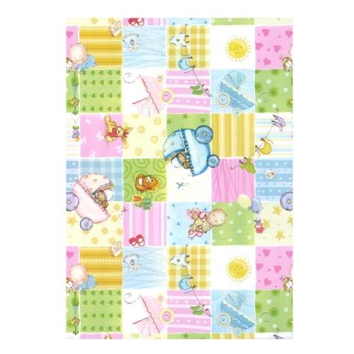 Χαρτί δώρου bolis 70 x100 cm Supermix babies
