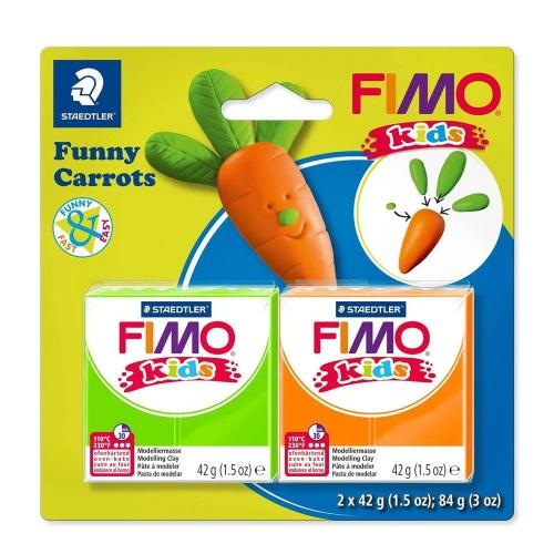 Σετ Fimo kids funny carrots 8035 14