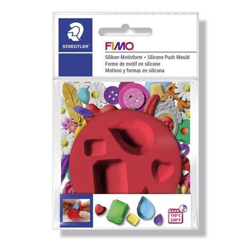 Καλούπι σιλικόνης πηλού Fimo 872527 gems