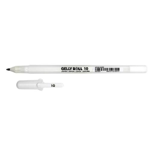 Στυλό Sakura Gelly Roll 10 λευκό 0,5 mm 31031