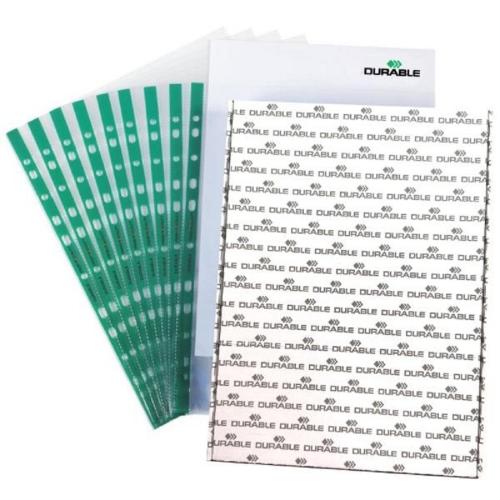 Ζελατίνη με τρύπες Α4 Durable πράσινη