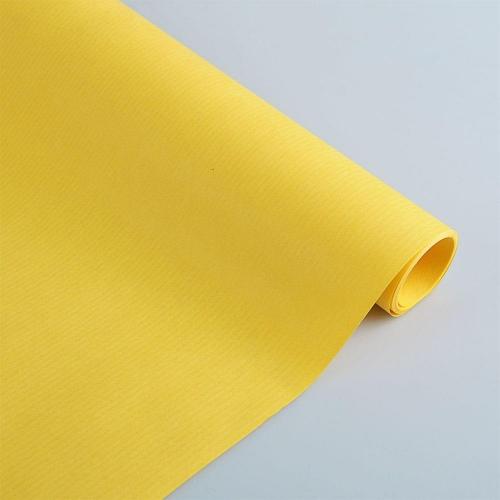 Χαρτί δώρου κράφτ 1x3 m Sadipal κίτρινο