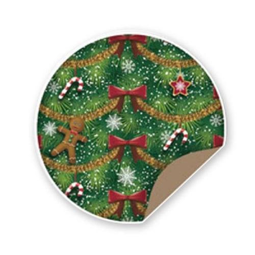 Χαρτί δώρου 1x2 m Sadipal Χριστούγεννα φιόγγοι