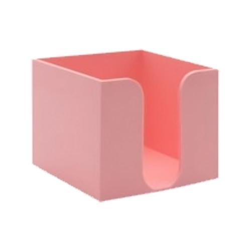 Κύβος Metron πλαστικός κενός ροζ