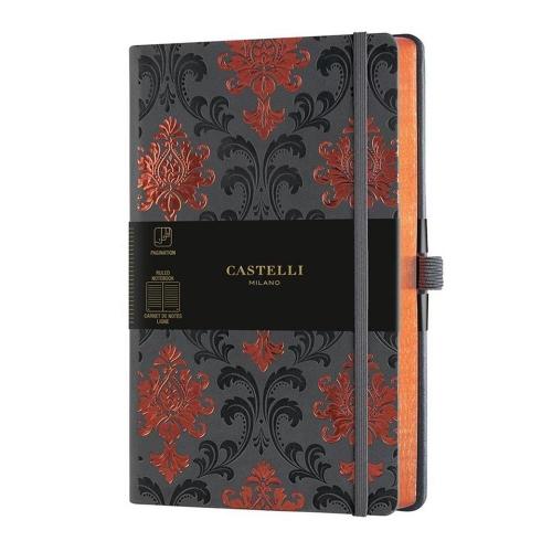 Σημειωματάριο 13x21 cm Castelli ριγέ Baroque