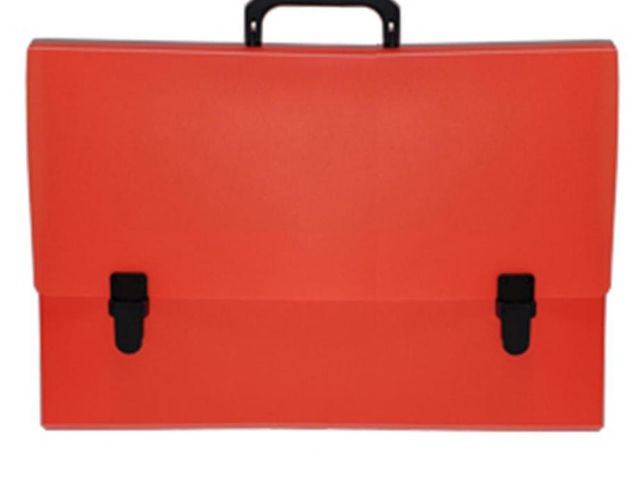 Τσάντα σχεδίου 30x40x5 νέον πορτοκαλί