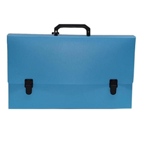 Τσάντα σχεδίου 30x40x5 παλ τυρκουάζ