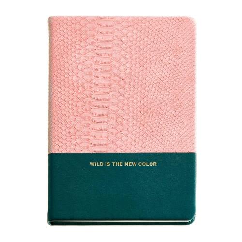 Σημειωματάριο Α5 Miquelrius 80φ pink python