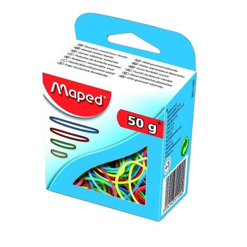 Λάστιχα 50 gr Maped χρωματιστά
