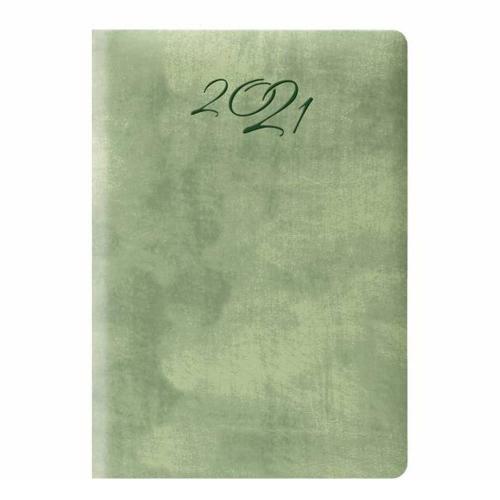 Ημερολόγιο 2021 9x13 ημερήσιο Wall πράσινο